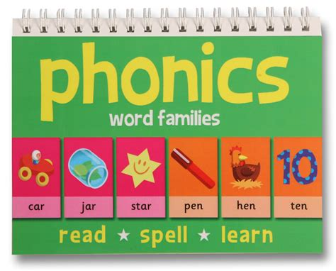 Sarah's Book Reviews Phonics  Word Families, Three Letter Words And Short Vowels