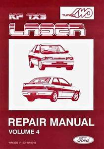 Ford Laser Kf Tx3 Turbo  U0026 4wd Factory Repair Manual