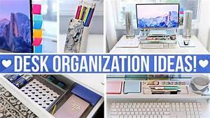 Desk  U0026 Office Organization Ideas