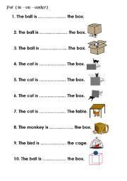 preposition worksheets    google search