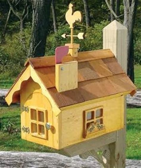 ideas  wooden mailbox  pinterest mail boxes