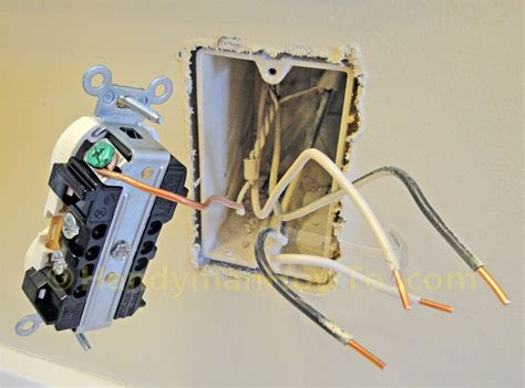 how to replace a worn out electrical outlet part 2