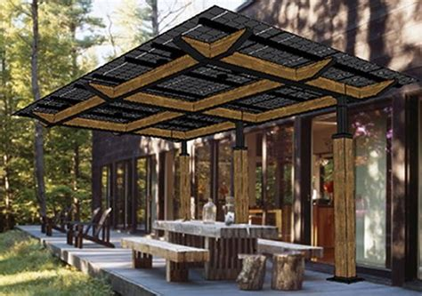 Framed Pool Canopy Cover by Lumos Solar S New Solarscape Structures Provide Shade And