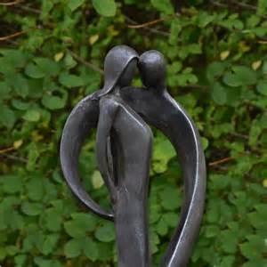solstice sculptures tender modern garden statue lead effect