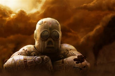 Sad Robot By Bvigec On Deviantart