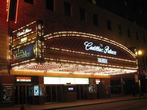 cadillac palace theatre  chicago il cinema treasures