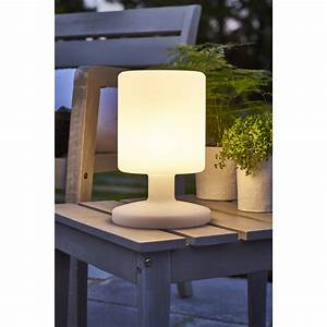 lampe de table exterieure led integree 5 w 130 lm blanc With carrelage adhesif salle de bain avec lampe led table