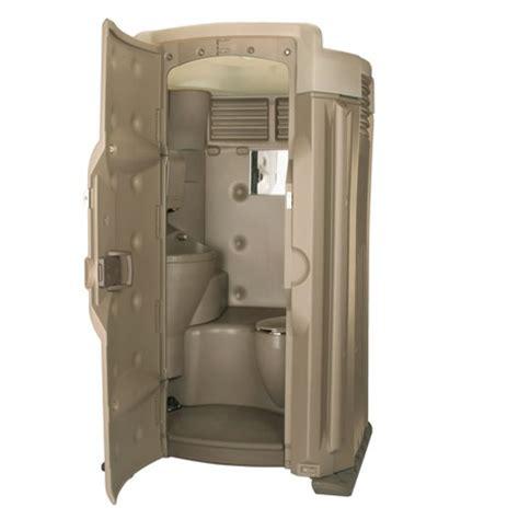 luxury high tech ii fresh water flushing portable toilet