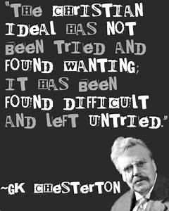 G.K. Chesterton... Gk Chesterton Food Quotes