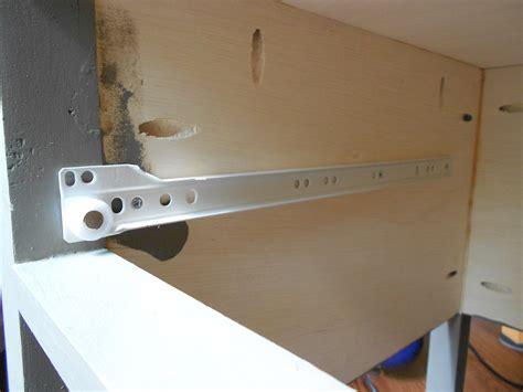 cabinet drawer slides how to install drawer slides