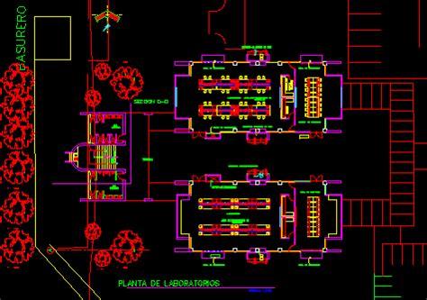 laboratories dwg block  autocad designs cad