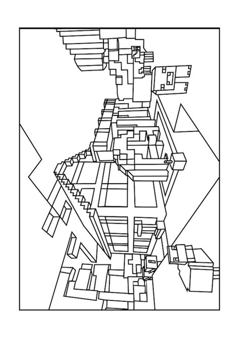 minecraft house coloring page minecraft minecraft coloring pages minecraft house