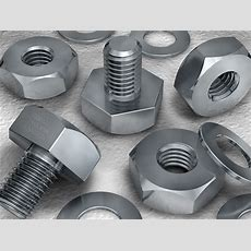 Schrauben Und Muttern  Bolts And Nuts Illustration