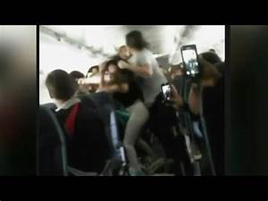 PASSENGER BRAWL ALL OUT FIST FIGHT ERUPTS On Japan to L ...