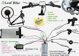 20 Inch 36v 750w Front Hub Motor Electric Bike Conversion
