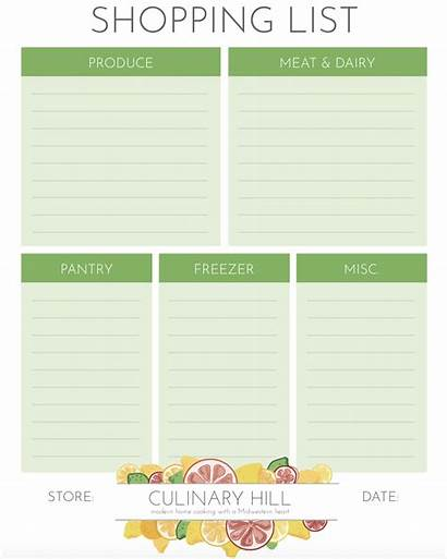 Shopping Template Burberry Culinaryhill Hill Grocery Culinary