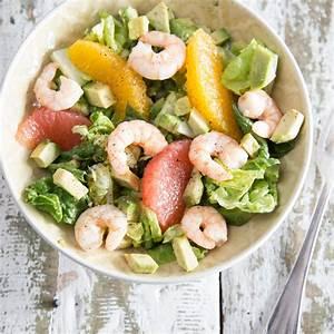 Salat Selber Anbauen : spritziger avocado orangen salat mit w rzigen shrimps ~ Markanthonyermac.com Haus und Dekorationen