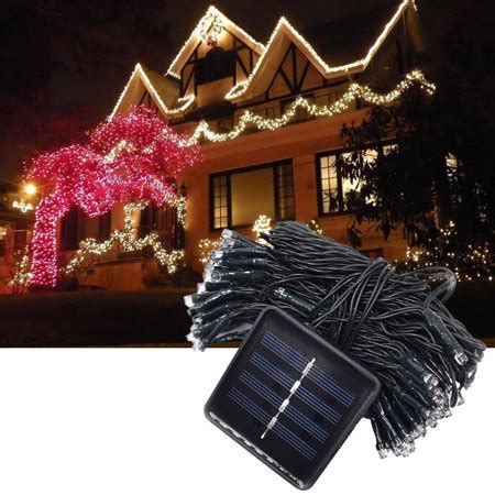 Custom style and custom size available. Clearance! Patio Solar String Lights for Christmas Tree Decorations, 72ft 200 LED Waterproof ...