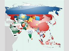 Asia Flag Map by lgstudio on DeviantArt