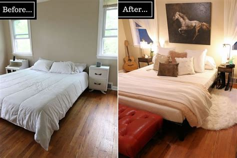 Bedroom Makeovers : Master Bedroom Refresh On A Budget
