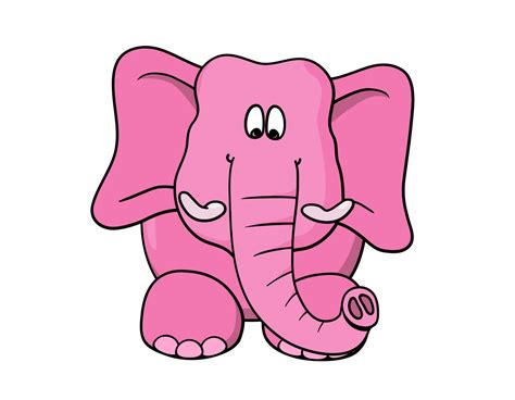 Cute Cartoon Elephant Wallpaper