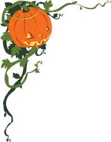 Halloween Clip Art Corner Borders