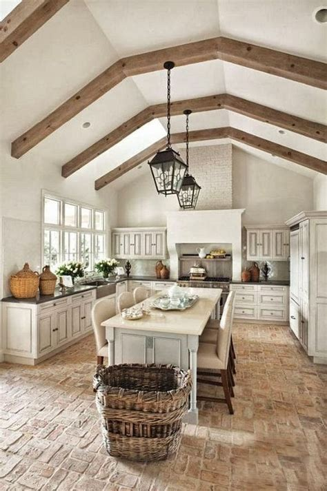 country style floor ls 30 practical and cool looking kitchen flooring ideas