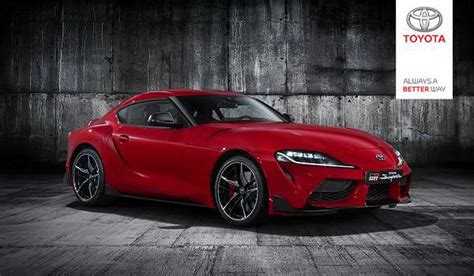 Images Of 2020 Toyota Supra by 2020 Toyota Supra Prematurely Revealed In Official Photos