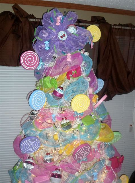 candyland christmas tree holiday pinterest