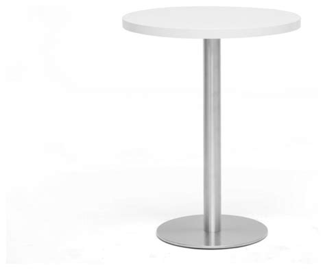 small round pub table baxton studio monaco small round white modern bistro table