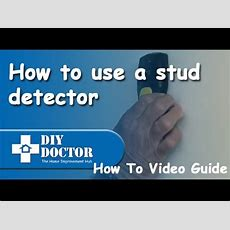 How To Use A Stud Finder Youtube