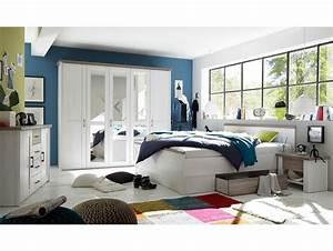 Schlafzimmer Komplett Weiß : luba komplett schlafzimmer pinie weiss tr ffel ~ Orissabook.com Haus und Dekorationen