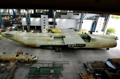 emirates bureau antonov to manufacture an 225 mriya aircraft in china unian