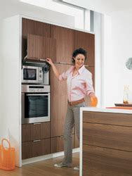 Video to enhance that Dream Kitchen, shows   the Blum