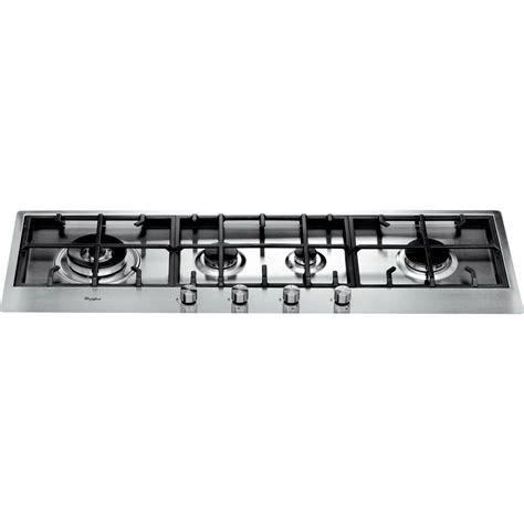 piano cottura 4 fuochi gas piano cottura a gas whirlpool 4 fuochi akm 299 ix