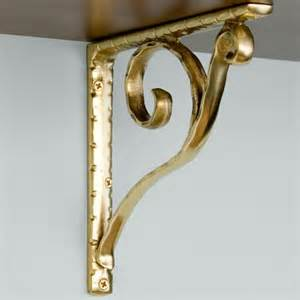 brass shelf brackets sprig brass shelf bracket hardware