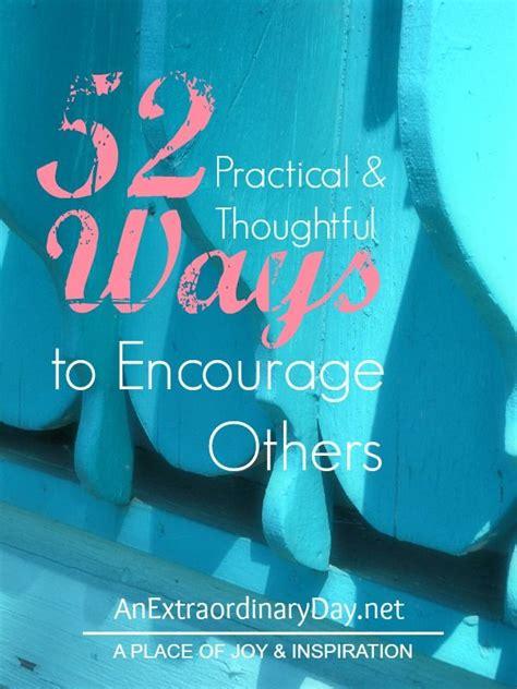 practical  thoughtful ways  encourage