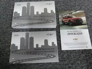 2019 Chevy Blazer Owner Operator Manual User Guide Set L