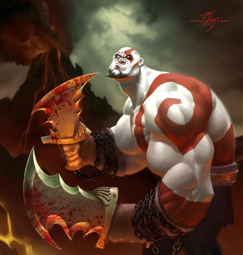 God Of War By Kanyn On Deviantart