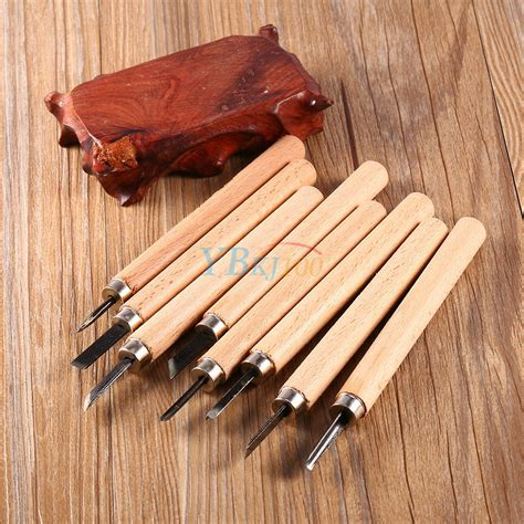 hot wood handle carving mini chisels tool kit carpenters