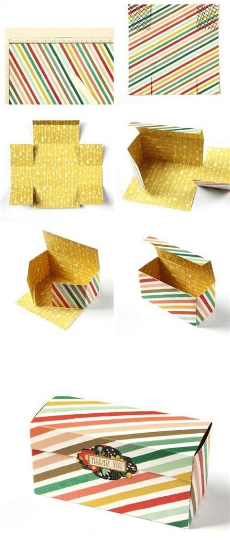 comment fabriquer une boite en papier