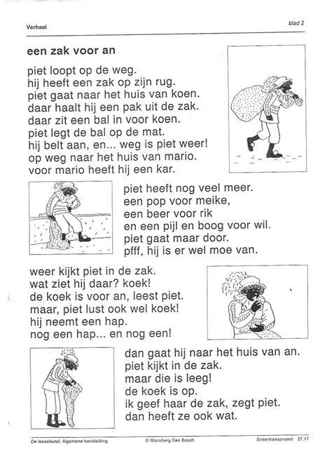 Kleurplaat Met Leestekst by 517 Best Thema Sinterklaas Images On December