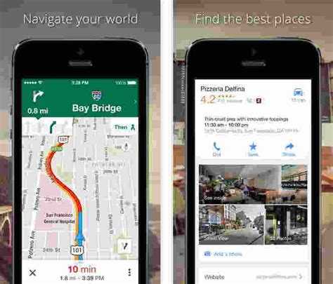 best navigation app for iphone top best gps apps for iphone and best tracker apps