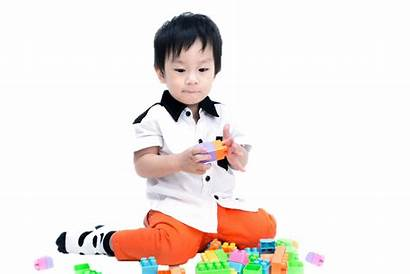 Child Care Toy Playing Transparent Background Asian