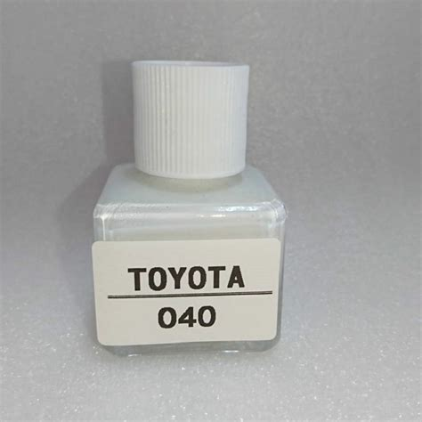 new fast ship for toyota touch up paint color code 040 super white ii ebay