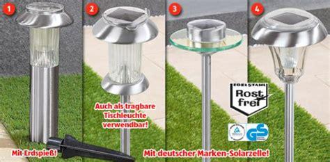 Solarleuchten Für Draußen by Solarlen Garten Aldi Zuhause Image Idee