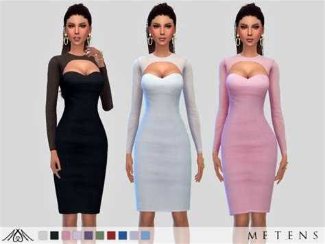 Arwen Dress by Metens at TSR » Sims 4 Updates