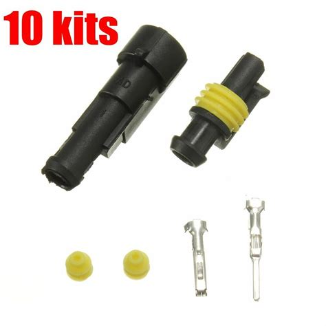 Sealed Waterproof Electrical Wire Auto Connector Plug