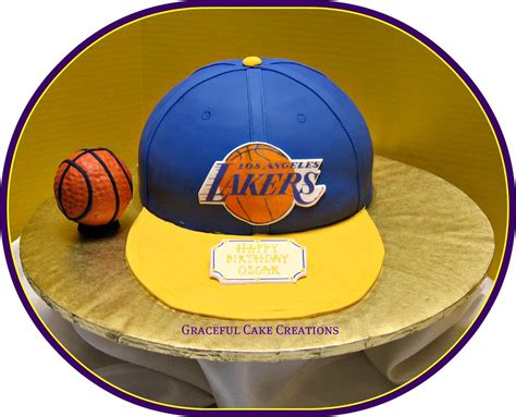 la lakers basketball birthday cake grace tari flickr