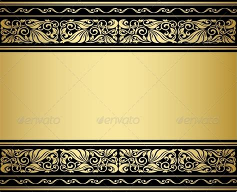 Baroque Powerpoint Template Free by Gilded Ornaments And Patterns By Seamartini Graphicriver